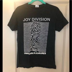 Joy Division Unknown Pleasures Black T-shirt Small